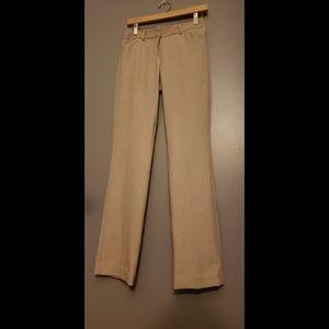 Express editor pants size 2 tan. Practically new